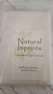 Natural Imprints naturalized dye products napkin project (missing solution  F1
