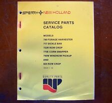 New Holland Service Parts Catalog 790 717 722R 770E 790W and 824 *FREE SHIPPING*