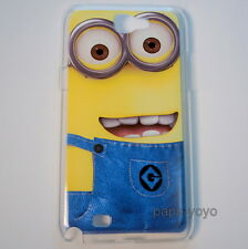 Despicable Me Minion Hard Phone Case Cover for Samsung Galaxy Note 2 II N7100