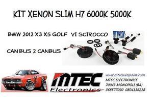 KIT XENON SLIM H7 6000K 5000K CAN BUS 2 CANBUS BMW 2012 X3 X5 GOLF V VI SCIROCCO
