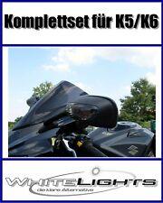 LED Feu Arrière Et Clignotant Noir Suzuki Gsx-R 1000 K5 K6
