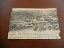 ** Early rare 1905 German Germany postcard Postkarte mentions Luxemburg **