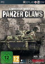 PC Computer Spiel ***** World War II Panzer Claws 1+2 *******************NEU*NEW