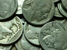 Buffalo nickel 40 coin roll - All partial dates!