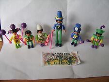 Kinder JOUETS série complète de 6 Chinois cirque type Caractères + 1 Papier à partir de 1993