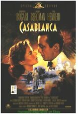 CASABLANCA MOVIE POSTER 27x40 ORIGINAL 1998 VIDEO ONE SHEET - DUDASH ARTWORK !!!