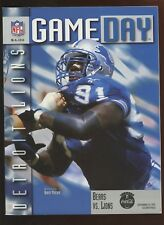 September 14 1997 NFL Program Detroit Lions at Chicago Bears NRMT