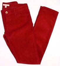 Banana Republic - Size 32 Saucy Red Skinny Leg Cords Pants $79.50 (H)