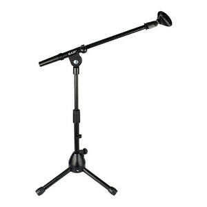 PrimeCables® Audio Short Tripod Microphone Stand with Telescoping Boom