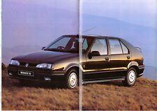 Renault 19 1993-94 UK Market Sales Brochure 16v RSi RT RN RL Hatchback Cabriolet