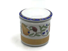 Dansk Fiance Fruits Sugar Bowl with Lid