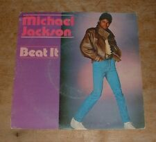MICHAEL JACKSON beat it*get on the floor 1982 DUTCH EPIC PS 45