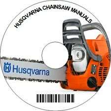 HUSQVARNA CHAINSAW SERVICE REPAIR MANUAL On CD