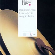 MANUEL DE FALLA - ISAAC ALBENIZ - JOAQUIN TURINA / CD - NEUWERTIG