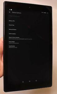 "AMAZON KINDLE FIRE HD 10 7TH GEN SL0567E 10.1"" 32GB BLACK TABLET - GOOD COND."