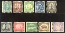 U.S. #692-701 Mint Nh - 1931 Rotary Set ($137)