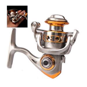Mini Spinning Fishing Reels Saltwater Freshwater Wheel Gear Metal 10+1BB 5.2:1