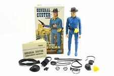 Vintage Marx General Custer Fort Apache Fighter Cavalry Action Figure & Box 1866
