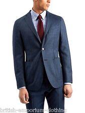 Jaeger Blu Scuro Lana & Cashmere Tasca A Marsupio blazer nuova con etichetta uk42 RRP £ 699