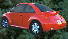 PAINTED TO MATCH VOLKSWAGEN BEETLE CUSTOM STYLE SPOILER 1998-2011