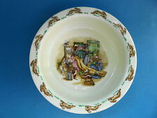 ROYAL DOULTON BUNNYKINS BOWL DRESS UP OR EVENINGS OUTING LIKE NEW