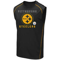 Pittsburgh Steelers NFL Majestic Team Apparel Muscle T-Shirt TX3 COOL NWT