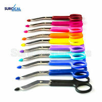 12 pcs Lightweight Colored Bandage Scissors Nurse Surgical Medical Holiday Gift