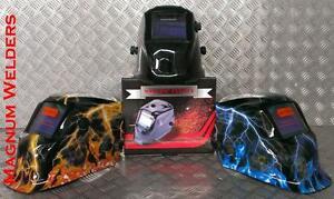 Magnum Welders Solar Powered Dual Shade Welding Helmet Regular & Maxi Lens size