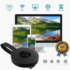 Miracast WiFi HD 1080P TV Media Wireless Android iOS Win10 For Google Chromecast