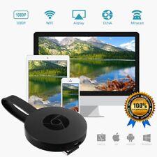 Miracast WIFI HD 1080P TV media Wireless Android IOS Win10 para Google Chromecast