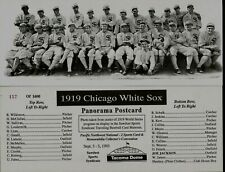 1919 CHICAGO WHITE (BLACK) SOX REPRODUCTION PHOTO FROM THE 1919 WS PROGRAM~NICE!