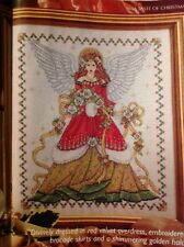 Joan Elliott Christmas Angel Christmas Cross Stitch Chart