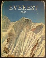 Photo book Everest 1952 by Andre Roch on French Mountaineering alpinism climbing