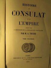 Histoire de la révolution Francaise & Histoire du consulat et de l'empire -16vol