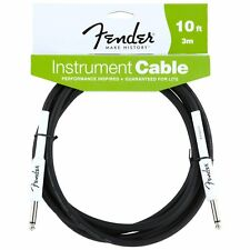 Genuine Fender Guitar Cable - 10 ft (approx. 3.05 m) Performance Series (3 M)