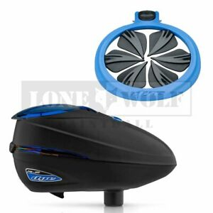 Dye Rotor R2 Quick Feed Combo - Black/Blue Ice