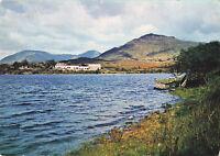 "Lovely Rare Vintage Postcard ""Recess"", Connemara Ireland Tree/Lake/Mountains."