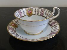 RARE AYNSLEY BONE CHINA ENGLAND CUP AND SAUCER PATTERN 4509