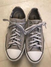 Converse All Star Gray Sneakers Shoes Men's Sz 6 Women's Sz 8