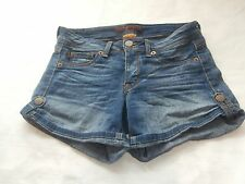 Domaine Brand Jeans women'e jean shorts size 7 cute design back pockets must see