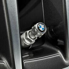 Original BMW Ventilkappen Ventilkappe Satz Aluminium mit BMW Logo 36122447401
