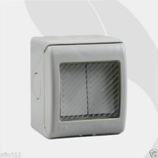 IP55 220-250V 16A waterproof electric wall mounting light on off switch ABS case
