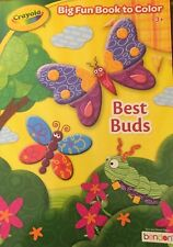 Crayola Coloring Book BEST BUDS 2019 (BRAND NEW)