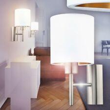 Luxus Wandleuchte Textilschirm Wohnraum Beleuchtung schaltbar braun 1-flammig