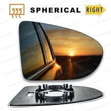 For Nissan Qashqai Right Driver wing mirror glass 2006-2013 door side Heated