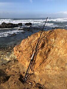Lamiglas Custom Surf Rod | GSB 10' Light 1-3 oz, 2pc,Titanium Guides, Alps Seat