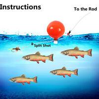 5Pcs Bobbers Outdoor Fly Fishing Float Terminal Tackle Airlock Strike Indicators