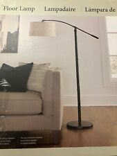 "NEW Uttermost Arc Floor Lamp ALL METAL RUBBED BRONZE FINISH H:70.2"",ADJUSTABLE"
