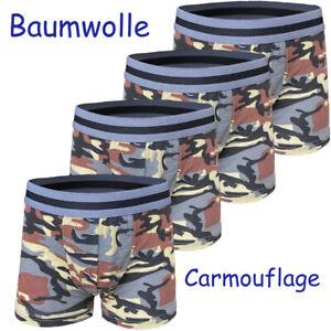 10 Boxershorts Carmouflage Gr. 104-116 Jungen Kleinkind Unterhosen