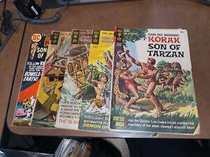 Korak Son Of Tarzan 15 20 35 45 50 Dc Gold Key Comics Lot Run Set Collection